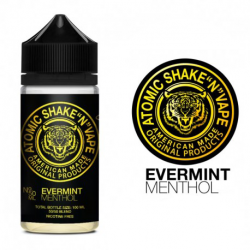 E-Liquide Evermint Menthol - Shortfill Format - Atomic | 50ml