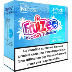 Pods Bloody Summer - Gusto NS - Fruizee | Pack x3