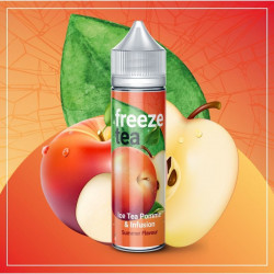E-liquide Ice Tea Pomme & infusion - Shortfill Format - FreezeTea by Made in Vape | 50ml