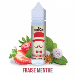 E-liquide Fraise Menthe - Shortfill format - Cirkus Authentic - VDLV | 50ml