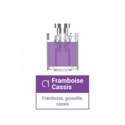 Pods Framboise Cassis pour Slym Aspire - So Fifty Alfaliquid | 1,8ml x3
