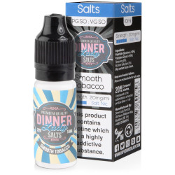 E-liquide Smooth Tobacco - Sels de nicotine - Dinner lady | 10ml