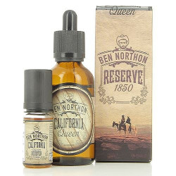 E-liquide California Queen avec booster aromatisé - Ben Northon | 40ml
