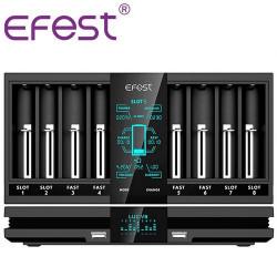 Chargeur accus Luc V8 - Efest