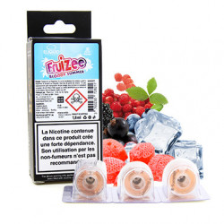 Pods Bloody Summer pour Slym Aspire - Sels de nicotine - Fruizee by Eliquid France| 1,8ml x3