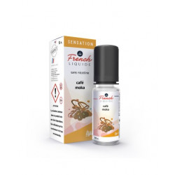 E-Liquide Café Moka - Sensation By Le French Liquide | 10ml