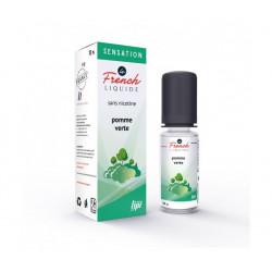 E-Liquide Pomme Verte - Sensation By Le French Liquide   10ml