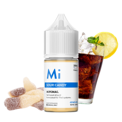 E-Liquide Sour Candy - Sels de Nicotine - Minimal By The FUU | 30ml