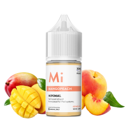 E-Liquide Mangopeach - Sels de Nicotine - Minimal By The FUU | 30ml