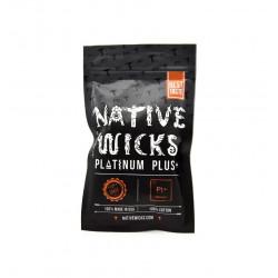 Sachet coton Platinum Plus+ - Native Wicks | 10G