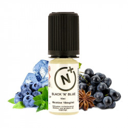 E-Liquide Black N Blue - Sels de nicotine - T-juice | 10ml