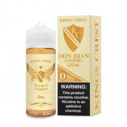 E-Liquide Don Juan Churro - Shortfill Format - Kings Crest | 100ml