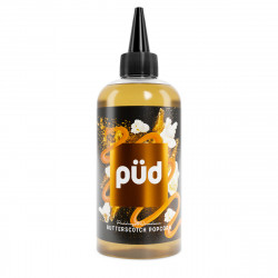 E-Liquide Butterscotch Popcorn - Shortfill Format - Püd by Joe's Juice | 200ml