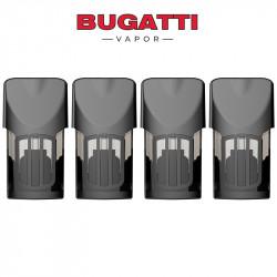 Cartouches Vides Quattro - Bugatti Vapor | Pack x4