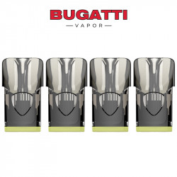Pods Banana Cream - Kit Quattro - Five Pawns by Bugatti Vapor | Pack x4