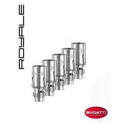 Résistances Royale - Bugatti Vapor | Pack x5