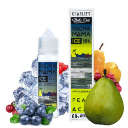 E-liquide Huckleberry Pear Acai Ice - Pachamama - Shortfill Format - Charlie's Chalk Dust | 50ML