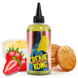 E-Liquide Strawberry - Shortfill Format - Creme Kong by Joe's Juice | 200ml