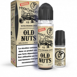 E-Liquide Old Nuts - Shortfill Format - Moonshiners | 60ml