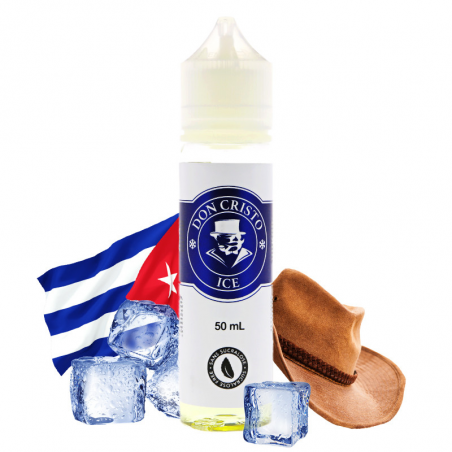 E-liquide Don Cristo Ice - Shortfill format - PGVG Labs | 50 ml