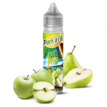 E-liquide Apple Pear V2 - Shortfill format - Pack à l'ô | 50ml