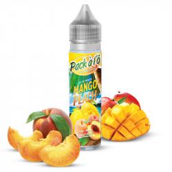 E-liquide Mango Peach V2 - Shortfill format - Pack à l'ô | 50ml