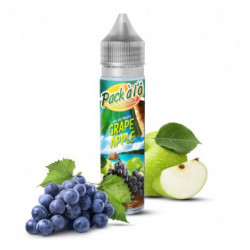E-liquide Grape Apple V2 - Shortfill format - Pack à l'ô | 50ml