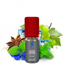 E-Liquide Blue Bomb - Sels de nicotine - T-juice | 10ml